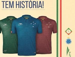 8111891d75 Pinterest. Cruzeiro lança oficialmente terceira camisa de uniforme (Foto   Reprodução Instagram)