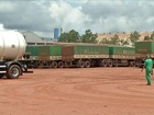 Preço do frete em MT preocupa caminhoneiros que transportam soja