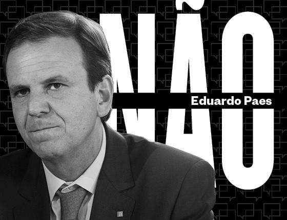 Eduardo Paes (Foto: Editoria de Arte)