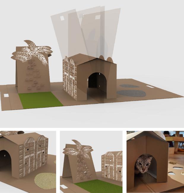 design-mobilia-para-gatos-lee-yun-qin (Foto: Divulgação)