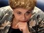 Dilma atacou Temer e Cunha e foi alvo de acusações e elogios (Evaristo Sá/AFP)