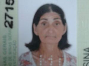 Maria das Graças Celestino da Silva, 65 anos (Foto: Arquivo pessoal)