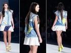 Bruna Marquezine é a estrela da Coca-Cola Clothing no Fashion Rio