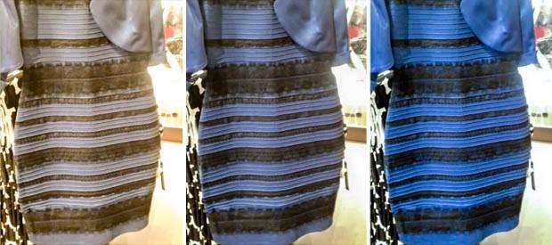 Vestido Azul, dourado, preto, branco - 3 Cores (Foto: Reprodução/Tumblr)