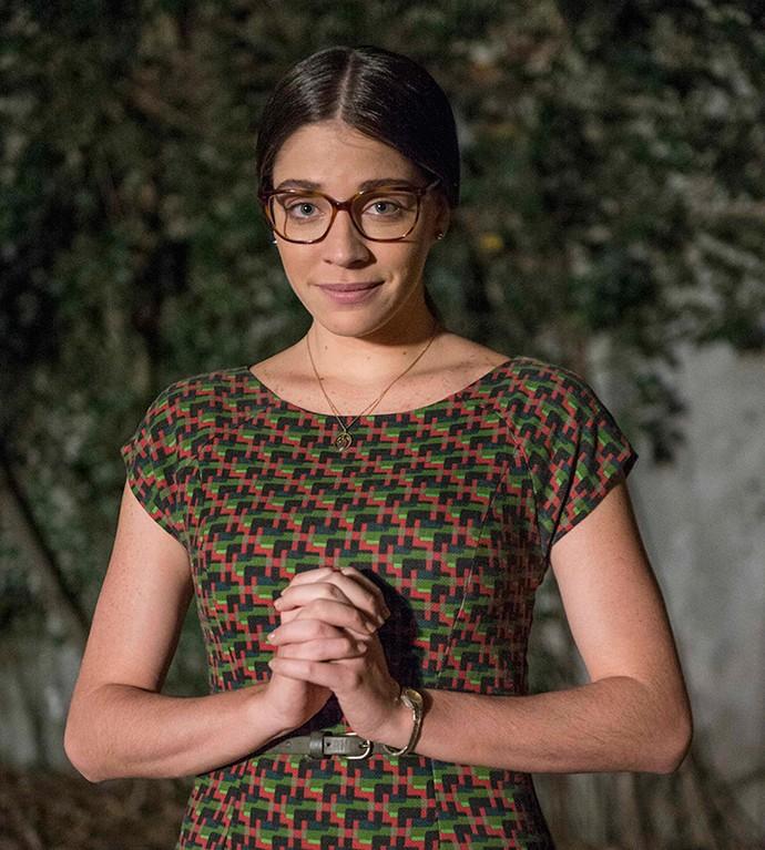Luma Costa interpreta a beata Elisa em 'Sol Nascente' (Foto: Renato Rocha Miranda / TV Globo)