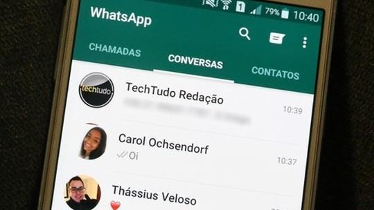 Foto: (Veja como acessar suas mensagens do WhatsApp em dois celulares ao mesmo tempo (Foto: Carolina Ochsendorf/TechTudo))