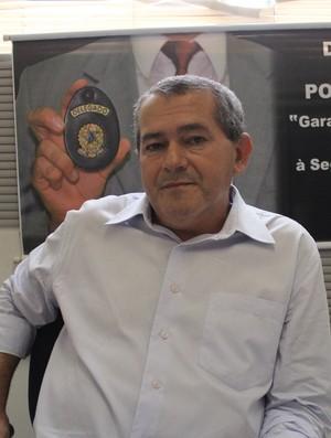 Delegado José Erisvaldo, responsável pelo caso das contas de luz do Flamengo-PI (Foto: Wenner Tito)