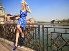 'Muito emocionante', diz modelo que participou de evento do Guinness