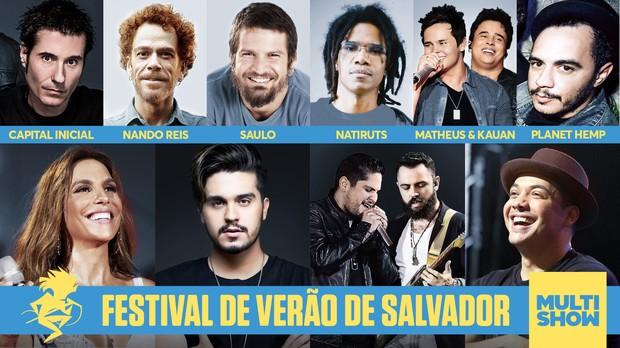 Festival de Vero de Salvador 2016 (Foto: Multishow)