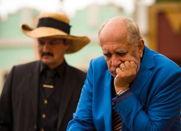 Marcelo Serrado e Saulo Laranjeira em cena da novela 'Velho Chico' (Foto: Divulgação/TV Globo)