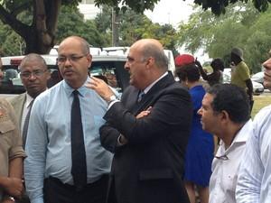 Secretário da Bahia, Nestor Duarte (Foto: Ruan Melo/G1)