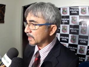 Vítimas são contundentes em afirma que suspeito é o autor do crime, diz delegado (Foto: Marcélio Bezerra/TV Verdes Mares)
