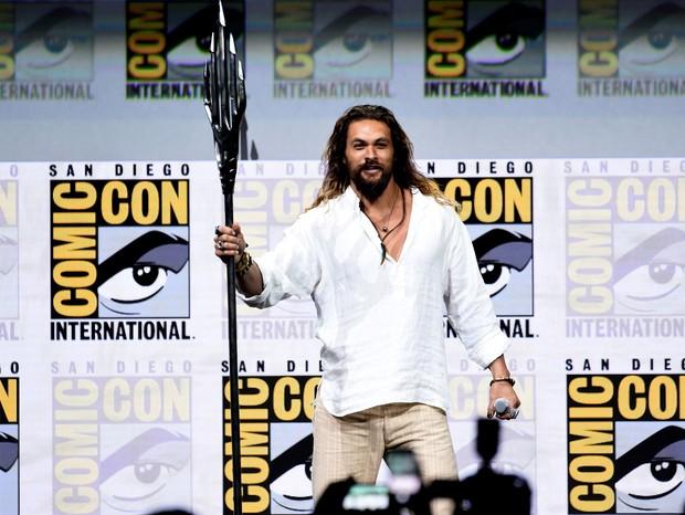 Jason Momoa na Comic Con 2017 (Foto: Getty)