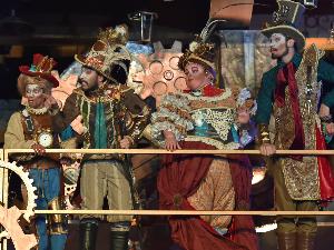 Senhores do Tempo guiam show no Palácio dos Festivais (Foto: Cleiton Thiele/SerraPress/Divulgação)