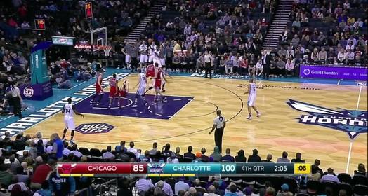 Bulls 91 x 108 Hornets