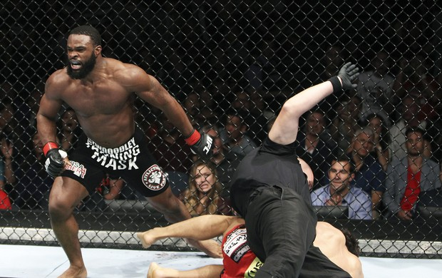 Tyron Woodley e Dong Hyun Kim ufc (Foto: Getty Images)
