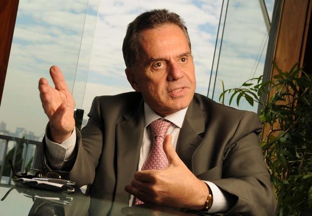 Edemar Cid Ferreira, ex-controlador do Banco Santos (Foto: Ana Paula Paiva/ Valor)