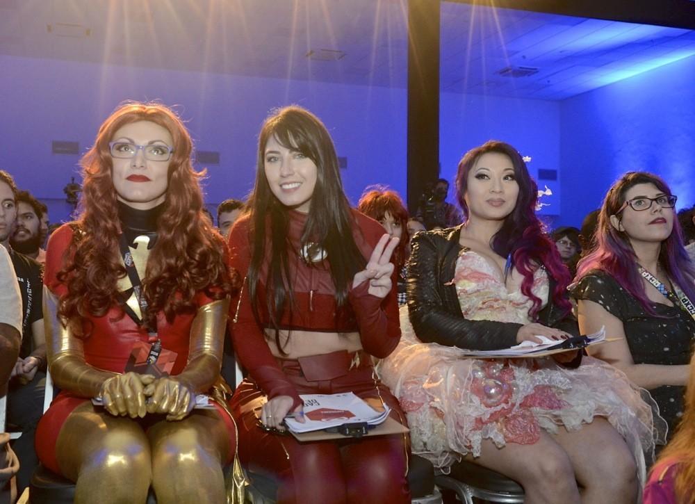 Algumas das juradas do concurso (Foto: Mirna Modolo)