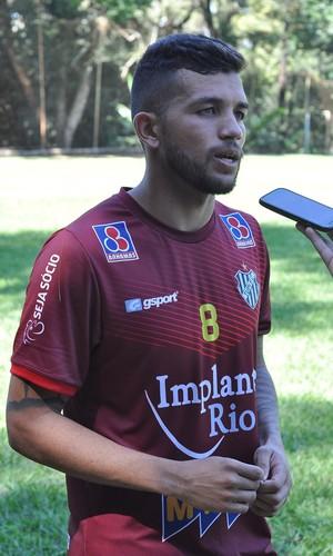 Jonathan Tupi-MG (Foto: Assessoria / Tupi FC)