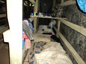 Fazenda onde ocorreu a prisão fica no bairro Vila Nova, em ituporanga (Foto: Polícia Civil/Divulgação)