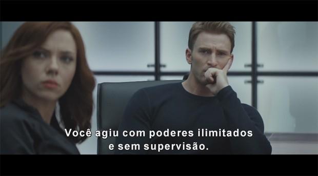 Cena de 'Capitão América: Guerra civil' (Foto: Divulgação)