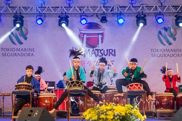 Akimatsuri 2016 movimenta a região com as tradições da cultura japonesa (Foto: Reprodução TV Diário / Divulgação Bunkyo de Mogi das Cruzes)
