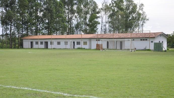 Centro do treinamento do Gaúcho em Cuiabá (Foto: Robson Boamorte)