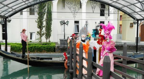 Nova Veneza em Roteiros de Charme (Foto: Divulgação)