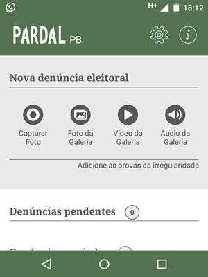 Sistema Pardal já está disponível para os eleitores da Paraíba (Foto: Reprodução/Sistema Pardal)