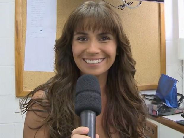 Giovana Antonelli (Foto: Em Família/ TV Globo)