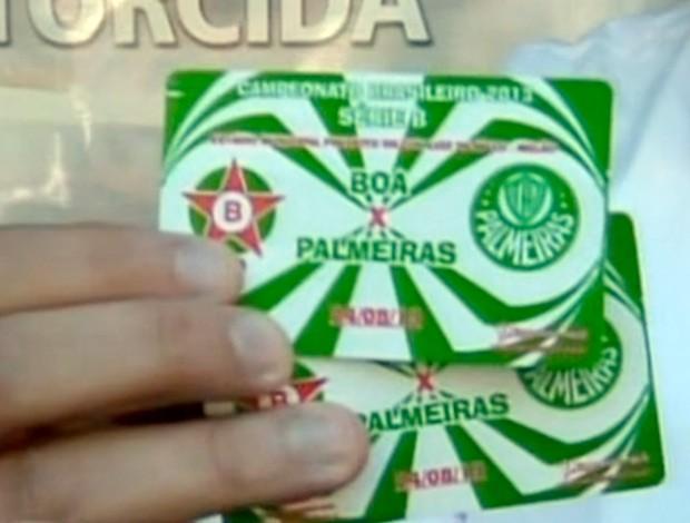 Ingressos de Boa Esporte e Palmeiras já estão à venda (Foto: Reprodução SporTV)