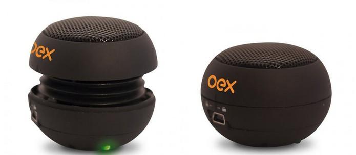 Mini caixa de som Oex permite amplificar o som do celular Android (Foto: Divulgação/OEX)