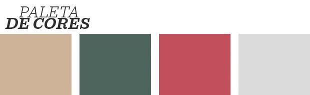 Décor do dia: sala de estar geométrica e colorida (Foto: reprodução)