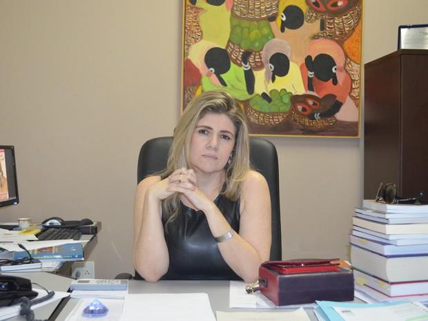 Alessandra Marques promotora do MP no Acre (Foto: Yuri Marcel/G1)