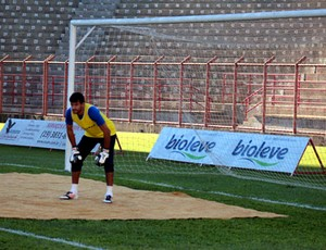 Daniel, goleiro do Mogi Mirim (Foto: Geraldo Bretanha / Divulgação Mogi Mirim)