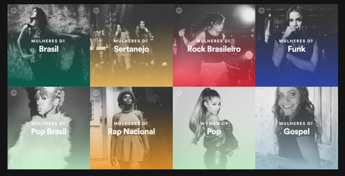 Playlists destacam artistas femininas em diferentes gêneros musicais (Foto: Reprodução/Barbara Mannara)