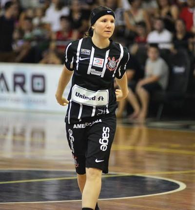 Melissa Gretter armadora Corinthians/Americana basquete (Foto: Divulgação / Corinthians Americana)