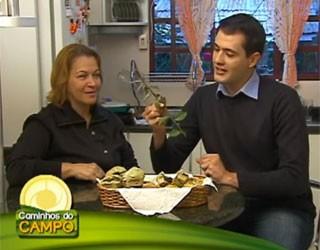 Pão de queijo erva (Foto: Divulgação/RPC TV)