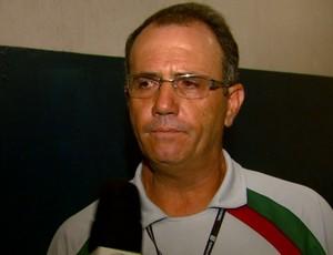 Marquinhos Costa, técnico do União São João (Foto: Reprodução/ EPTV)
