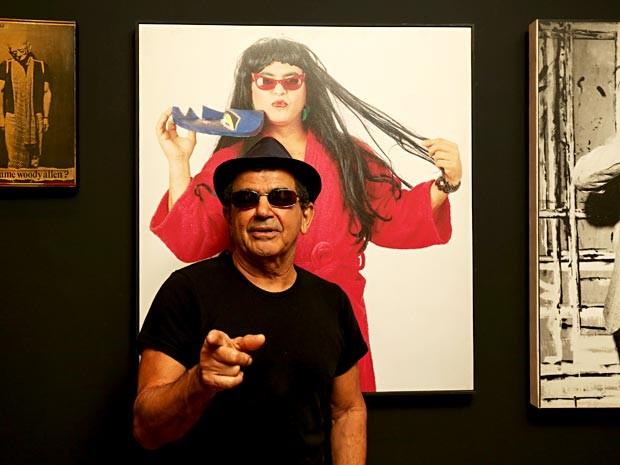 O artista performático Avald Granato, tema de exposição na Caixa Cultural de Brasília (Foto: Mila Maluhy/Divulgação)