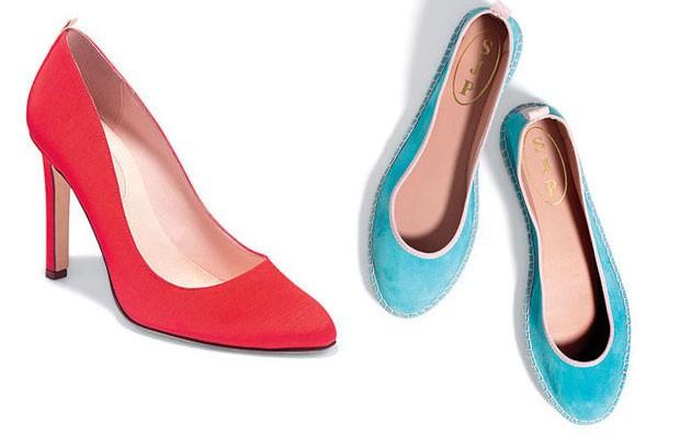 Sapato Lady - 350 dólares e Sapato Billie - 195 dólares (Foto: Divulgação)