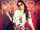 De vestidinho, Bruna Marquezine vai a ensaio da 'Dança dos famosos'
