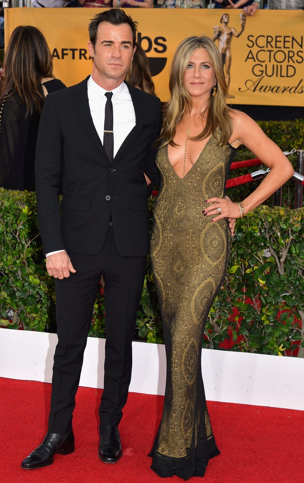 Jennifer Aniston e Justin Theroux (Foto: Getty Image)
