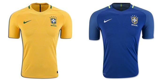 Camisa Brasil Copa América Centenario