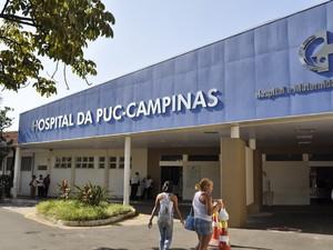 Hospital Celso Pierro - PUC (Foto: Maurício Barbosa / G1 Campinas)