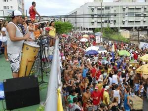 Bloco Kustelão (Foto: Gabriel Lordêllo / Jornal Notícia Agora)