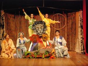 Espetáculo A Arca de Noé (Foto: Divulgação)