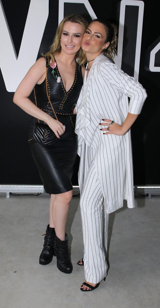 Fernanda Keulla e Ana Paula Renault (Foto: Thiago Duran/AgNews)