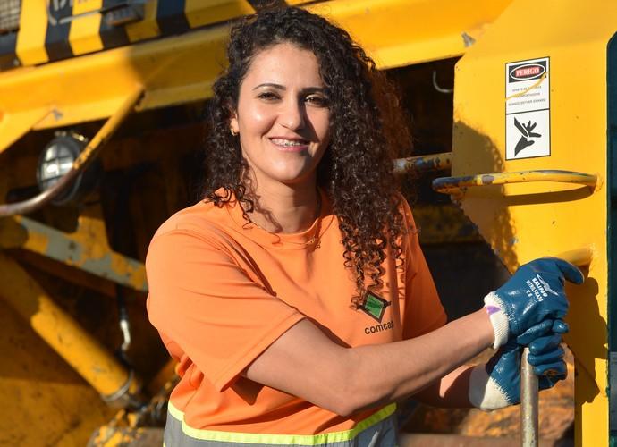 Gari modelo (Foto: RBS TV/Divulgação)