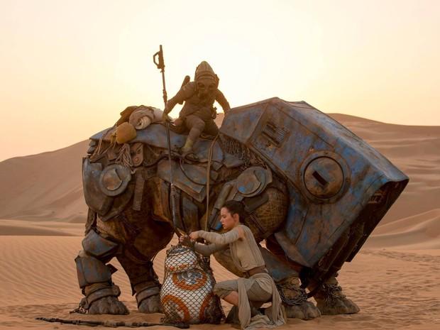 'Star Wars: O despertar da força' (Foto: Divulgação)